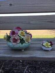 Adderly Floral Bone China Large And Small