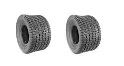 (2) Bad Boy Mower Rear Tires Fits ZT Elite - Carlisle Turf Master 22 x 11 x 10