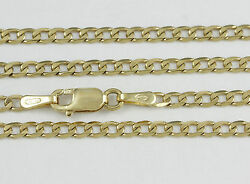 16-24 2.2mm 18k Yellow Gold Open Link Chain New Solid Italian Gold 2371