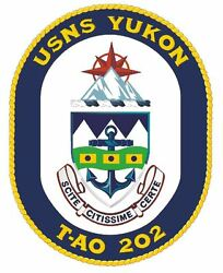 Usns Yukon Sticker Military Armed Forces Navy Decal M246