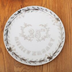 25th Anniversary Collectors Plate Lefton China Japan