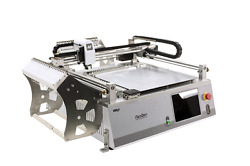 Low cost SMT pick and place robot with vision, 42 smt feeder for smt prototype-J