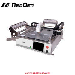 2 heads Visual NeoDen3V SMT Pick and Place machine with 44 feeders for 0402-EW