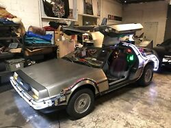 Delorean Time Machine Replica - DISPLAY ONLY - No Drive Train - For Museum Use