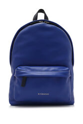 Givenchy Small Backpack (Blue; Calfskin Leather)