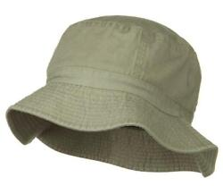 Classic 100% Cotton Soft Bucket Fishing Golfing Hat Solid amp; Camo Colors $9.95