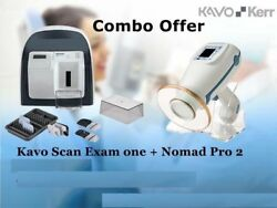 Combo Offer KaVo Scan eXam One and NOMAD Pro2 Handheld Portable X-Ray free shipp