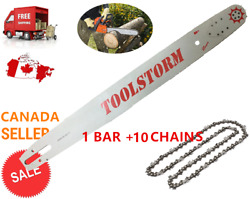 Toolstorm Pro Chainsaw Bar And Chain 10x 24 3/8 .063 84dl Stihl Ms660 Ms390