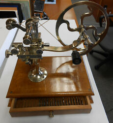 Antique Topping Tool / Watch Gear Cutting / Jewelers Lathe - Circa 1860 -rare