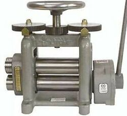 New Durston Goldproandreg Drm-f150 Hand Powered Roll / Rolling Mill For Sheet Metal
