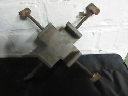 Rare Antique Ornamental And Engine Turning Work Holding Vise