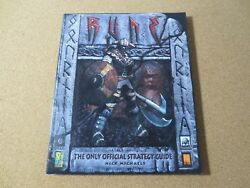 Video Game Rune 2000 Only Official Strategy Guide Book Nick Michaels Idw M1152