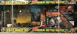 Zoo Med Reptihabitat 20 Gallon Bearded Dragon Starter Kit
