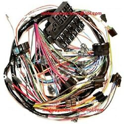 Dash Wiring Harness 65 Chevy Corvette With Backup Lights