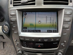 06 07 08 09 LEXUS IS250 IS350 NAVIGATION RADIO 6 CD PLAYER CLIMATE CONTROL