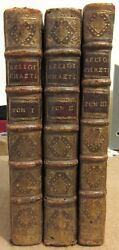 Houtteville The Religion Christian Proved By Handmade 1740 Illus Cochin 3 Flight