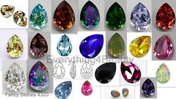 Crystals Fancy Stones 4320 Pear For Jewelry Making Inlay Wholesale