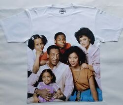 Cosby Show T Sublimated Brooklyn Huxtable Hillman Classic 80s 90s Tv