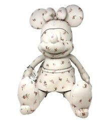 Coach Disney Large Minnie Mouse Ivory Leather Doll Limited Edition F28379