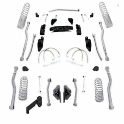 Rubicon Expr. Extreme-duty Progressive Coil Front And Rear For 07-18 Wrangler Jk
