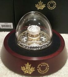 2018 Antique Carousel 50 6oz Pure Silver Gold-plated Proof Canada Coin