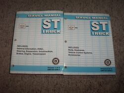 2005 Chevy SSR Coupe Convertible Factory OEM Shop Service Repair Manual 6.0L V8