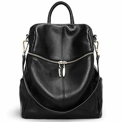 ANA LUBLIN Leather Backpack Purse for Women Girls School Satchel Shoulder Bags