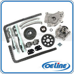 Timing Chain Kit For 97-01 Ford F150 Explorer Expedition E150 W/ Water Oil Pump