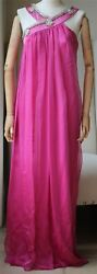 Christian Dior Haute Couture Silk Embellished Gown Small
