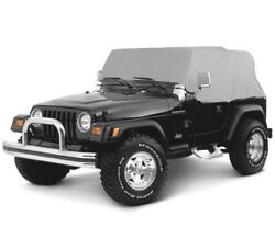 Smittybilt Gray Custom Fit Cab Climate Cover For 1992-2006 Jeep Wrangler YJ TJ