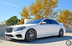 """22"""" RF16 STAGGERED WHEELS RIMS FOR MERCEDES S CLASS W221 W222 S550 2007 -PRESENT"""