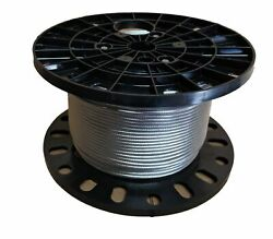 1/4 Stainless Steel Cable Railing Wire Rope 1x19 Type 316 900 Feet