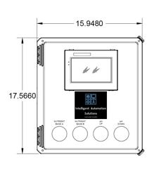 """All In One Grow Room Controller With 7"""" Touchscreen. Complete Ph And Ppm Control"""
