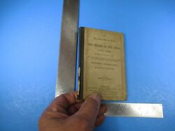 Antique 1864 Serial Question Books On The Heroes Of The Bible Rufus Clark S6629