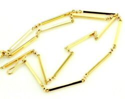 Authentic Handmade 20 Inches Chain 22k 22ct Solid Yellow Gold 29 Gm Eid Gift