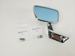 Mercedes Side View Mirror Manual Left New Oem W108 W109 W111 And03967-and03972