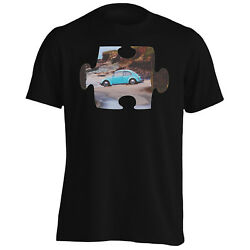 Puzzle Vintage Old Beautiful Car Surfer Menand039s T-shirt/tank Top E662m