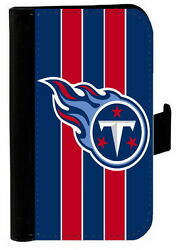 TENNESSEE TITANS SAMSUNG GALAXY amp; iPHONE CELL PHONE CASE LEATHER COVER WALLET $19.99