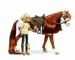 Breyer Spirit Riding Free-Boomerang and Abigail Toy Gift Set For kids Girls