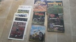 Vintage Antique Bicycle Book Collection Balloon Tire Lot