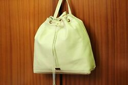 VERSACE 19.69 Women's 100% Leather White Backpack New with Tags