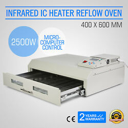 Auto Infrared IC Heater  Reflow Oven T962C LCD Display Heating Air Circulation
