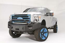 Fab Fours Premium Winch Full Guard Bumpers For 11-16 Ford F-250/350 Super Duty