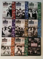 The Three Stooges Collection, Volumes 1, 2, 3, 4, 5, 6, 7, And 8 Dvd Plus Extra