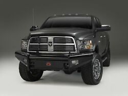 Fab Fours Black Steel Front Ranch Bumper For Ram 2500/3500 Dr10-s2961-1