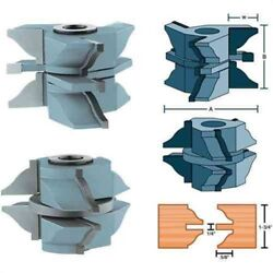 Carbide Stile And Rail For Exterior House Door 1-1/4 Bore For Wood Shaper