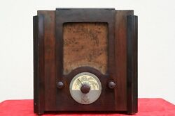 Telefunken 327 The Sister Of Radio Balilla 1930and039s Wood Tube Vintage Antique Rare