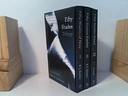 Fifty Shades Trilogy 3 Book Set Fifty Shades Of Grey / Fifty Shades Darker /