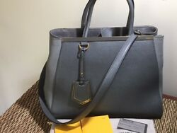 2013 Fendi Medium 2Jours Bag Handbag As New wTags Dustbag RRP $3200