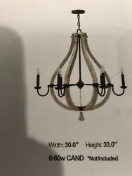 Light Fixture Foyer Entry Family Dining Steel And Wood Cash And Carry Only.